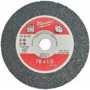 Abrazyvinis pjovimo diskas MILWAUKEE SCS41/76 76x10mm