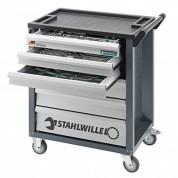 132 dalių vežimėlis su įrankiais STAHLWILLE 90/6/132QR