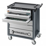 132 dalių vežimėlis su įrankiais STAHLWILLE 90/6A