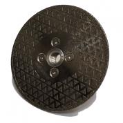 Poliravimo deimantinis diskas Ø125 MM Turbo, 30 grūdėtumas Flange M14