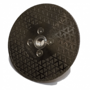 Poliravimo deimantinis diskas Ø230 MM Turbo, 30 grūdėtumas Flange M14