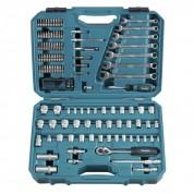 120 dalių rankinių įrankių rinkinys MAKITA E-06616