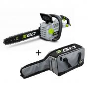 Akumuliatorinis grandininis pjūklas EGO Power+ CS1800E su krepšiu