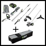 Daugiafunkcinis sodo įrankių komplektas EGO Power+ MHSC2002E su krepšiu