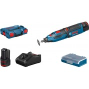 Akumuliatorinis rotacinis įrankis GRO 12V-35, 2x2.0Ah, GAL 12V-40, Bosch