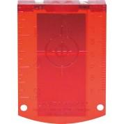 Taikinio lentelė Laser target RED, Bosch