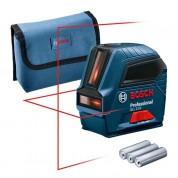 Kryžminis lazerinis nivelyras GLL 2-10, Bosch