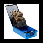 25 dalių metalo grąžtų rinkinys PFERD DIN338 HSSE N 1-13 Inox