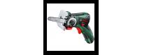 Akumuliatoriniai įrankiai namams, buičiai: Bosch, Makita, Ryobi,